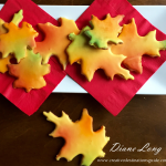 Fall Leaf Cookies Tray