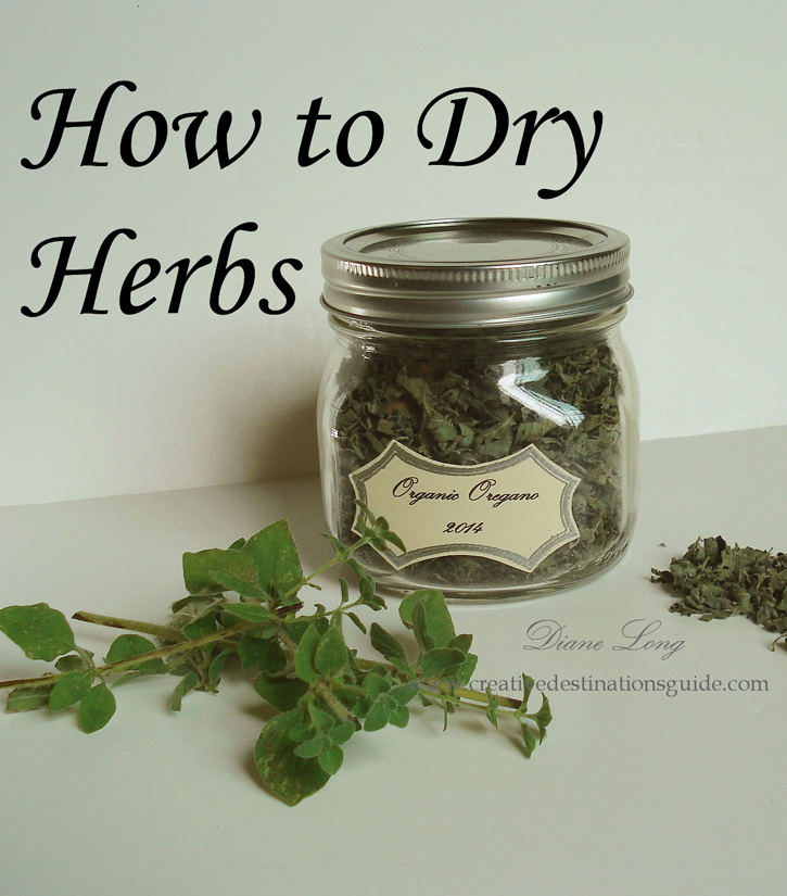 How to dry herbs image