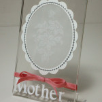 Mother's Day Lace Frame