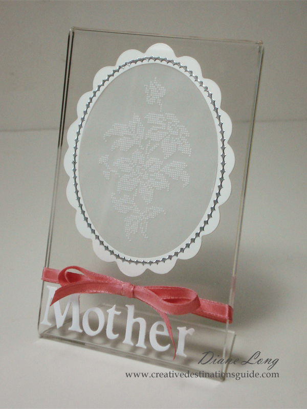 Mother Lace Frame