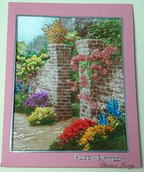 Thomas Kinkade Rose Garden