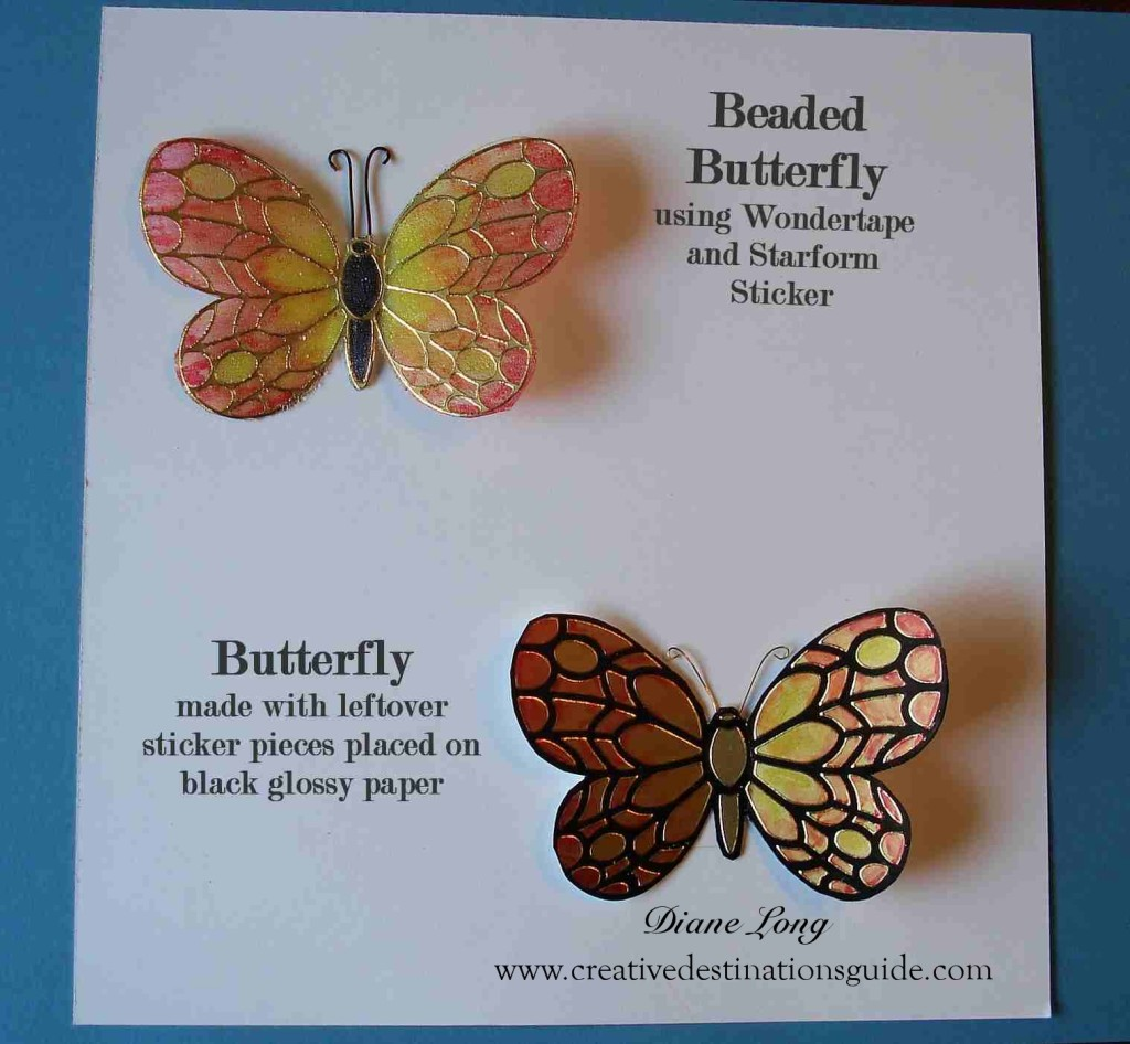 Beaded Butterfly Tutorial
