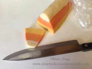 candy corn log