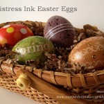 Distress Ink Easter Eggs