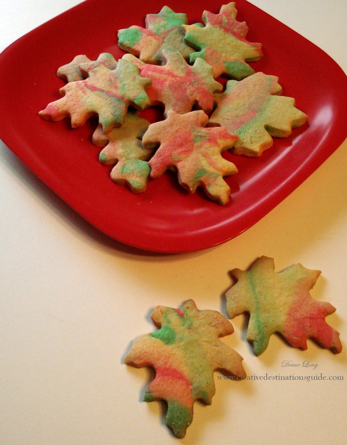 Fall Leaf Cookies