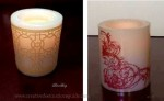 Flameless Candle Embellishing